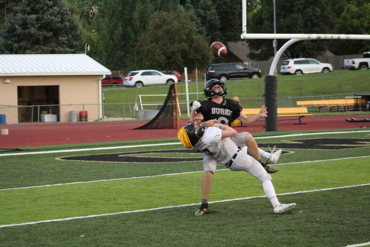 Photo from the Black and Gold Scrimmage