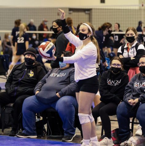 Volleyball Players Find Comfort in Wearing a Mask While Playing