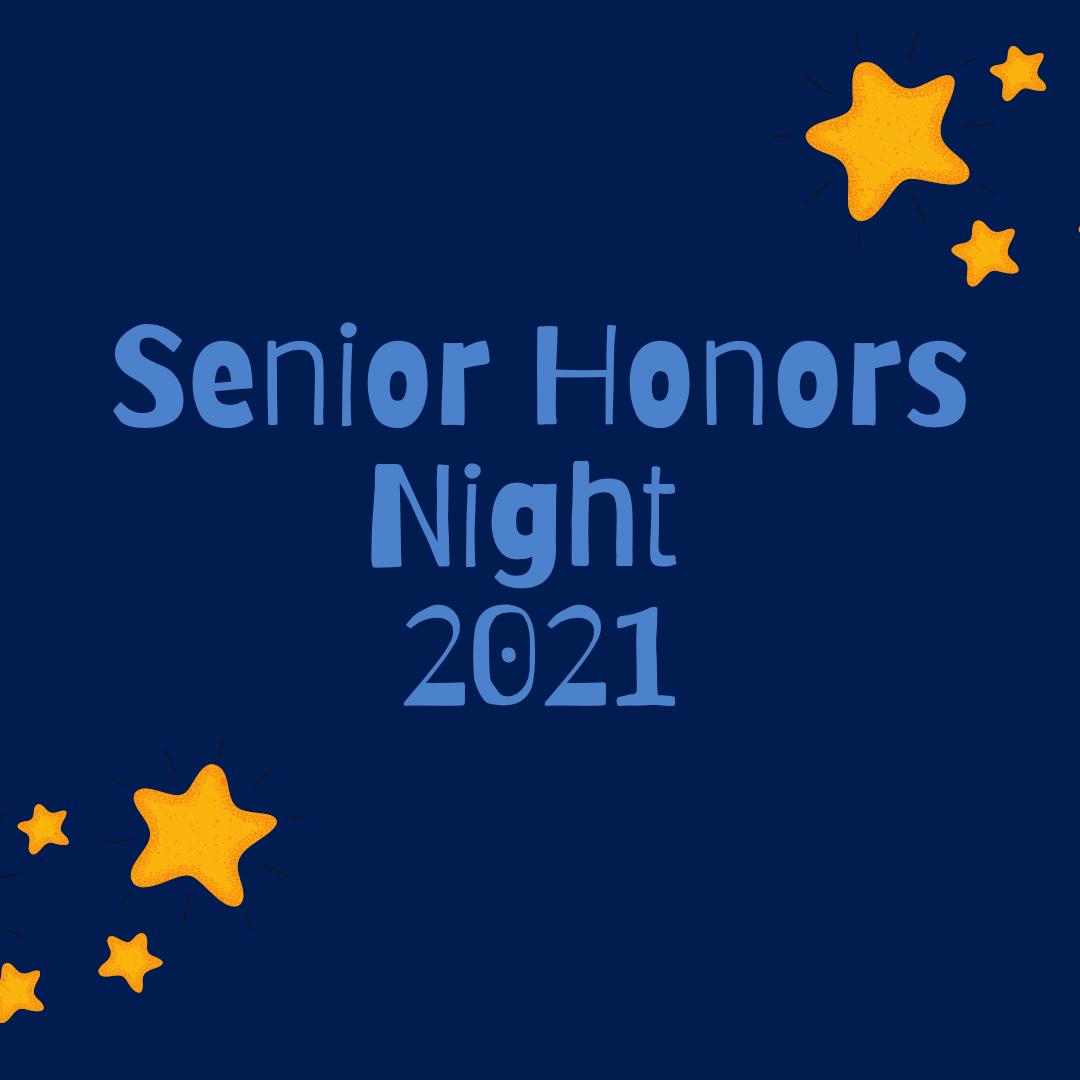 Senior Honors Night recognizes achievements of upcoming graduates