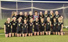 The 2021 girls varsity soccer team. Photo courtesy of Alyssa Judkins.